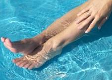 足のむくみを解消する方法のイメージ写真